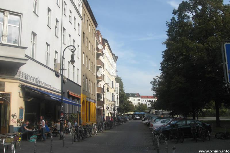 Spreewaldplatz, Blickrichtung Skalitzer Straße