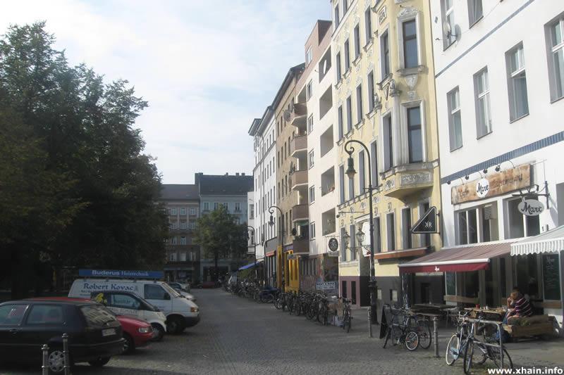 Spreewaldplatz, Blickrichtung Wiener Straße