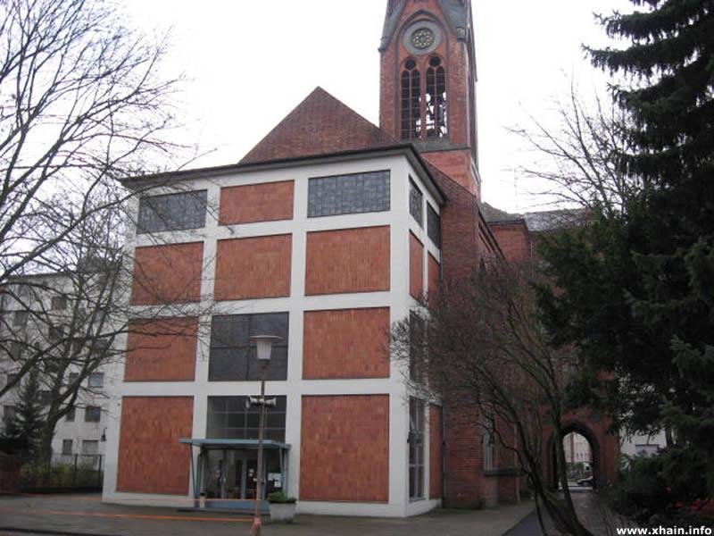 St. Simeonkirche - Hinterhof