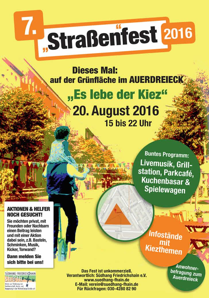 Kiezfest 20. August 2016 - Auerpark