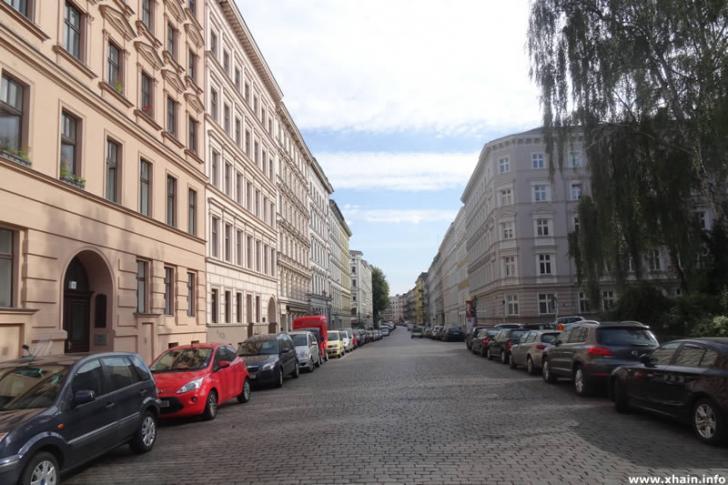 Arndtstraße am Chamissoplatz