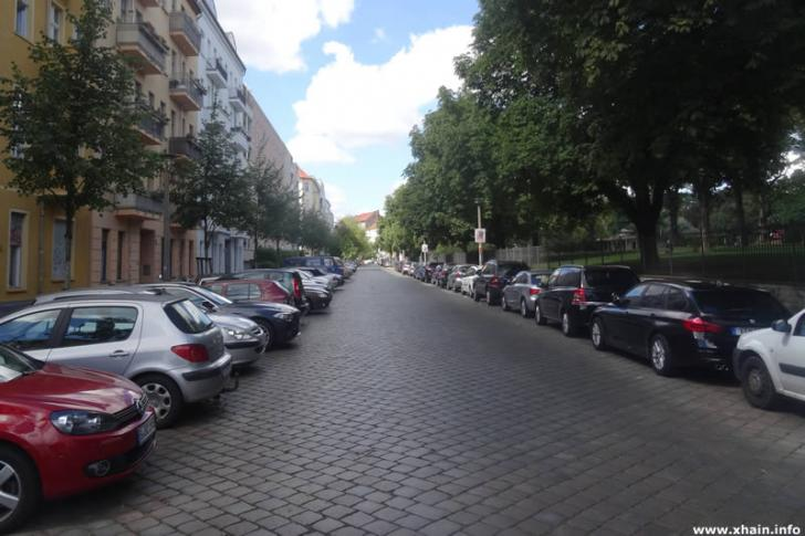 Bänschstraße am Forckenbeckplatz