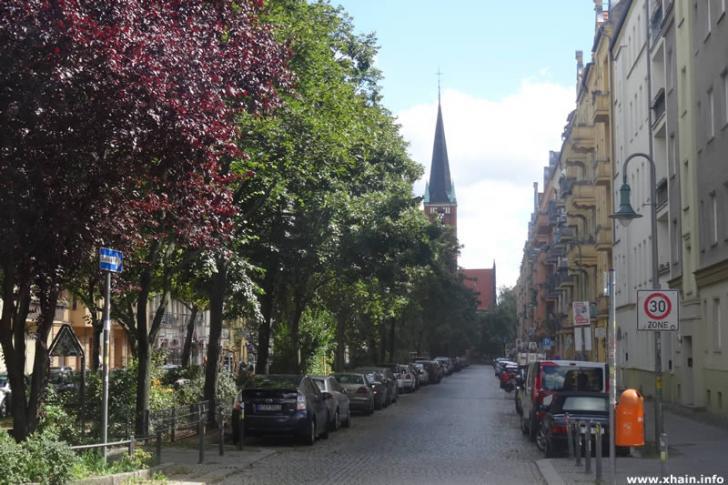 Bänschstraße Ecke Proskauer Straße