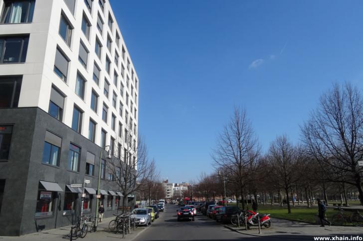 Besselstraße Ecke Friedrichstraße / Besselpark