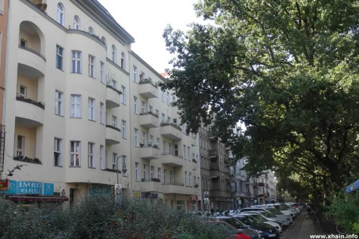 Boppstraße am Hohenstaufenplatz