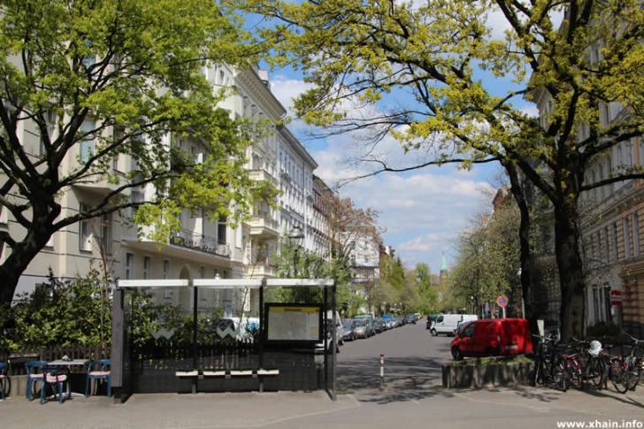 Bushaltestelle Tempelherrenstraße