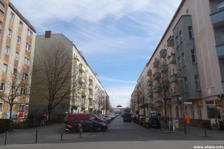 Corinthstraße Ecke Bödikerstraße