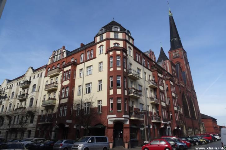 Danneckerstraße Ecke Rotherstraße
