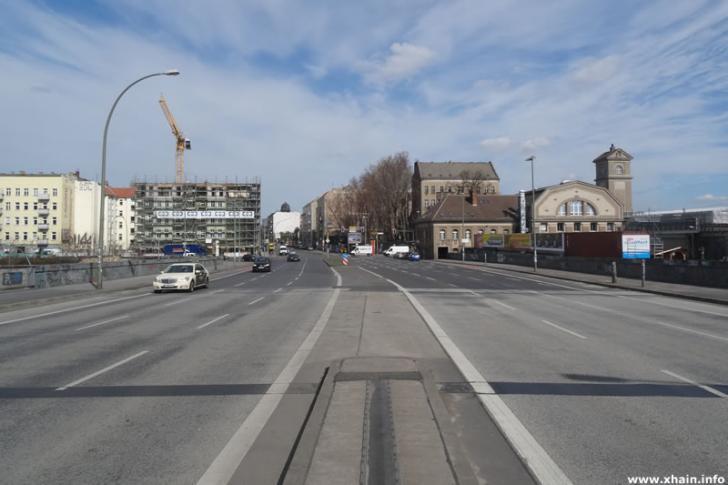 Elsenbrücke, Blickrichtung Friedrichshain