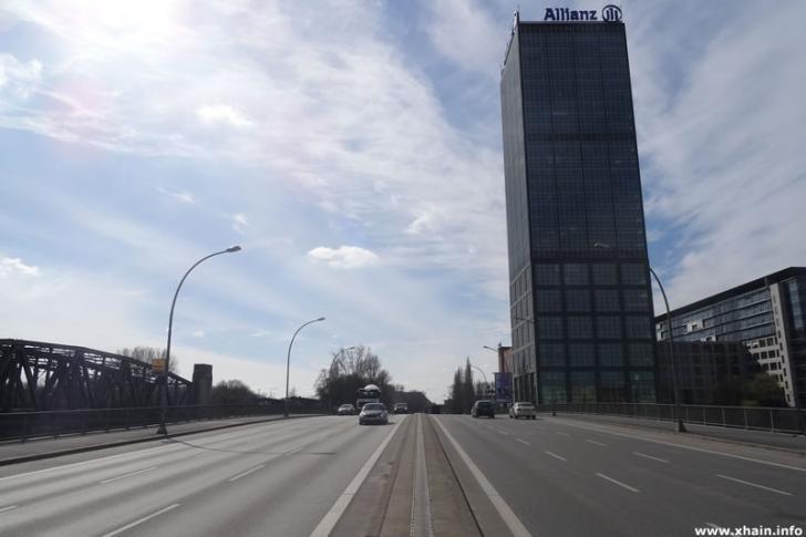 Elsenbrücke, Blickrichtung Treptow