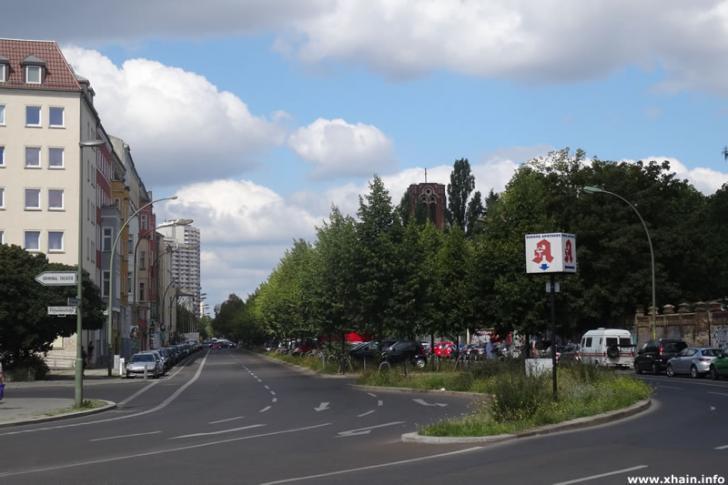 Friedenstraße Ecke Palisadenstraße
