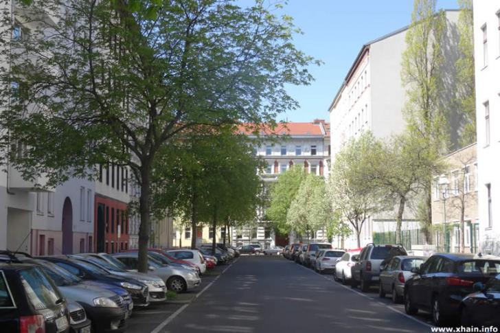 Fürbringerstraße, Blickrichtung Solmsstraße