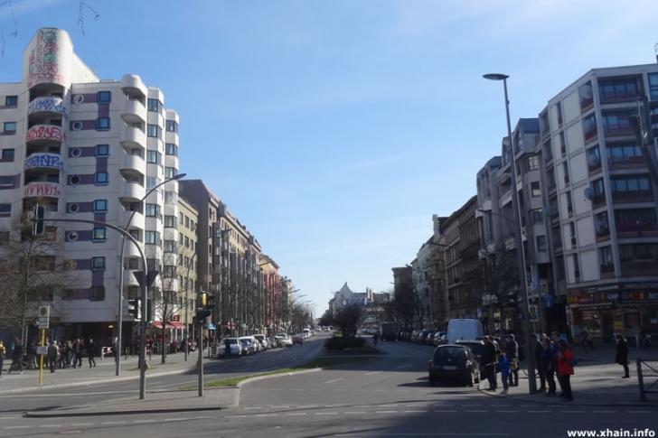Kottbusser Straße am Kottbusser Tor