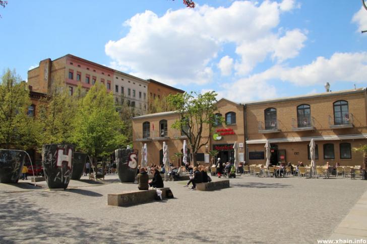 Marheineke Markthalle am Marheinekeplatz