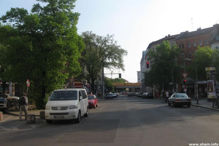 Mariannenstraße am Heinrichplatz