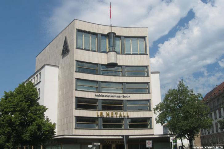 Haus des Deutschen Metallarbeiterverbandes