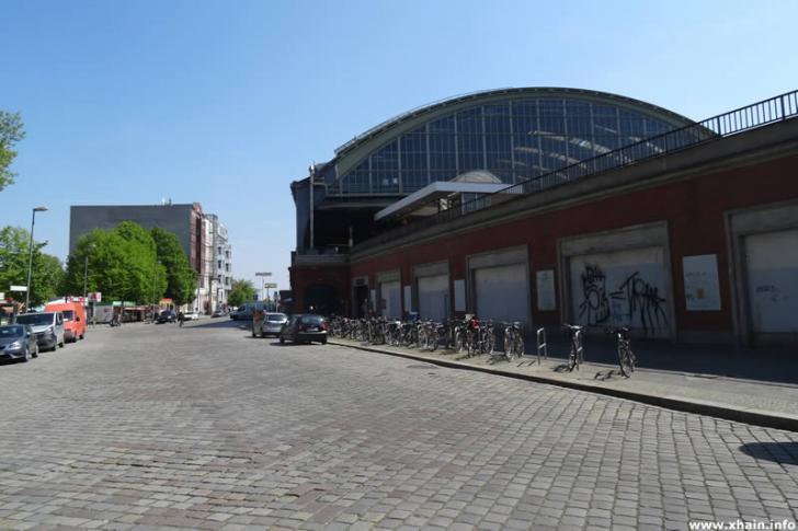Ostbahnhof an der Erich-Steinfurth-Straße