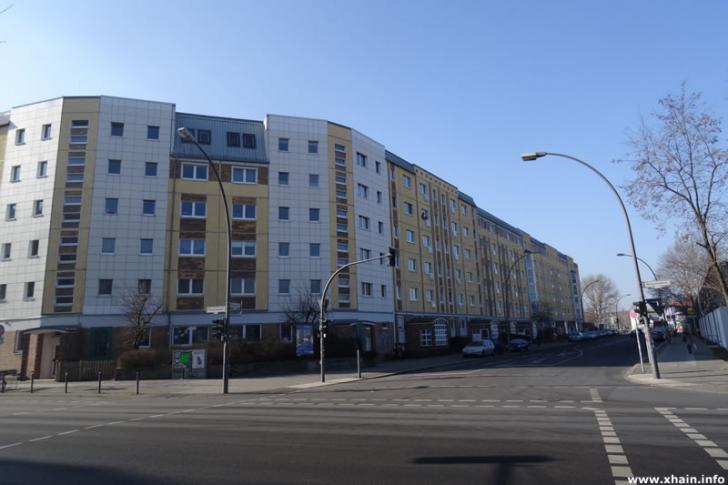 Persiusstraße Ecke Markgrafendamm (Lidl)