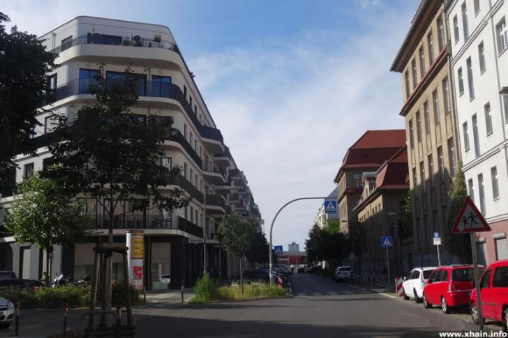 Pettenkoferstraße Ecke Dolziger Straße