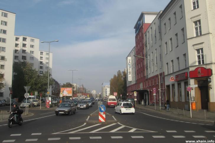 Prinzenstraße, Blickrichtung Heinrich-Heine-Straße
