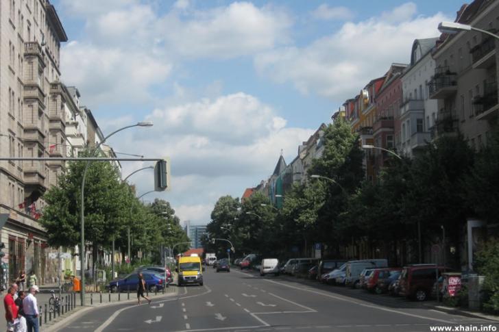 Proskauer Straße, Ecke Frankfurter Allee