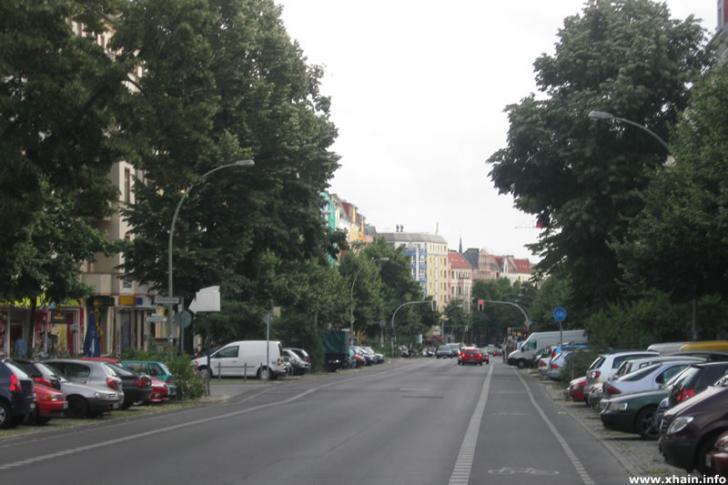 Proskauer Straße (Blickrichtung Süden)