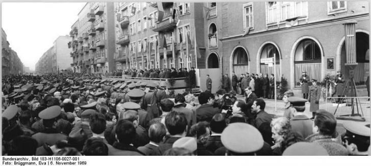 Namensgebung Richard-Sorge-Straße 6. November 1969