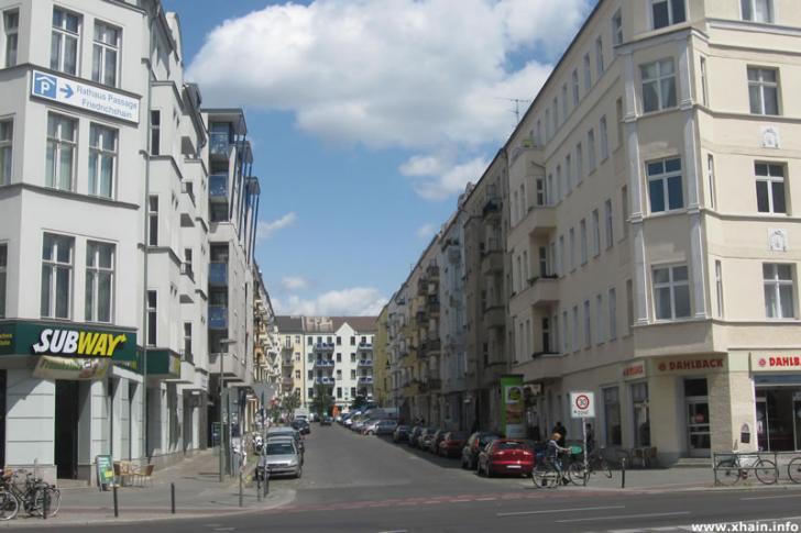 Silvio-Meier-Straße Ecke Frankfurter Allee
