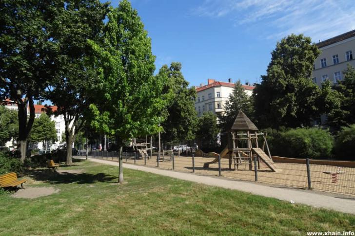 Spielplatz auf dem Wismarplatz