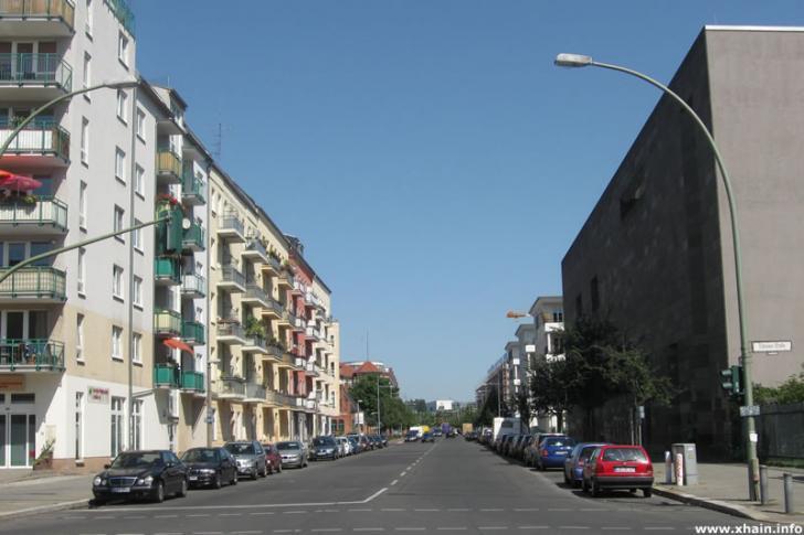 Thaerstraße, Ecke Eldenaer Straße
