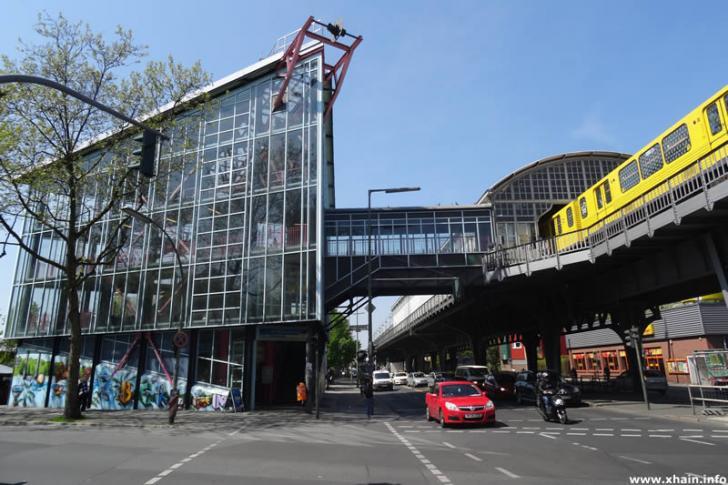 U-Bahnhof Prinzenstraße (Südseite)