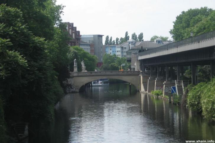 Landwehrkanal am Waterloo-Ufer