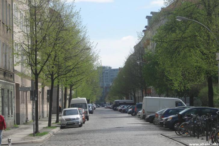 Weserstraße Ecke Kinzigstraße