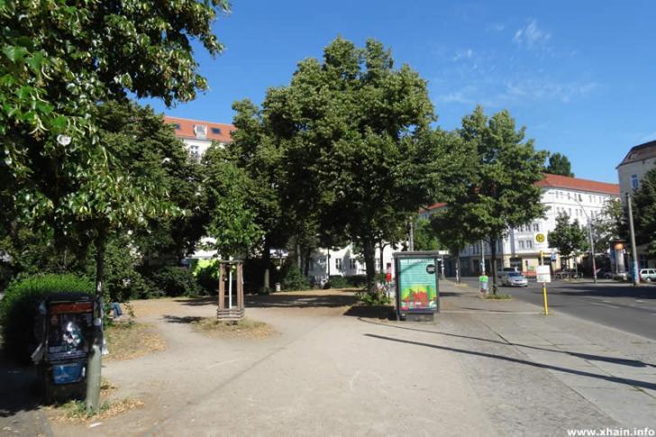 Wismarplatz an der Boxhagener Straße
