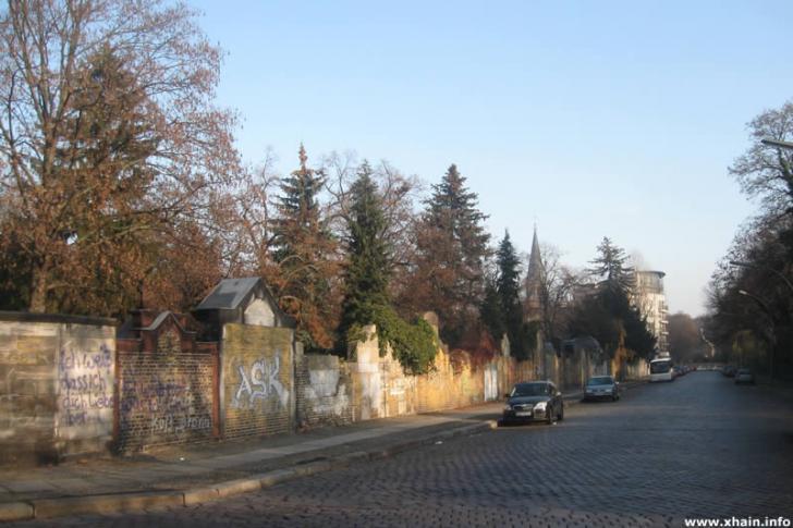 Züllichauer Straße - Alter Luisenstädtischer Friedhof