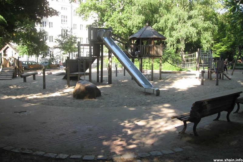 Spielplatz auf dem Traveplatz