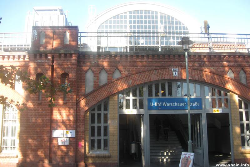 U-Bahnhof Warschauer Straße