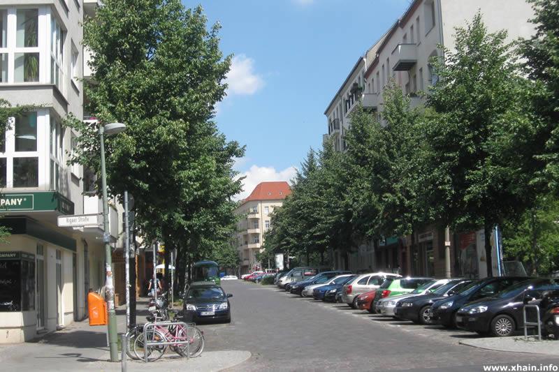 Voigtstraße, Ecke Rigaer Straße