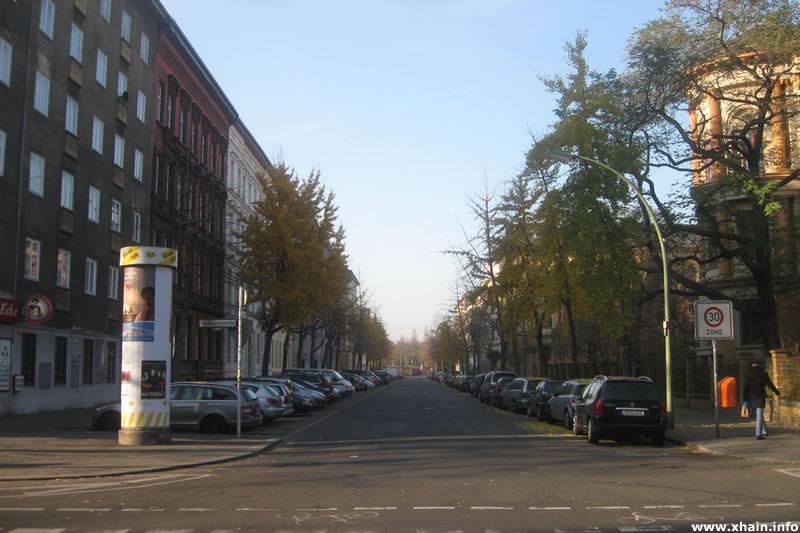 Wartenburgstraße Ecke Großbeerenstraße