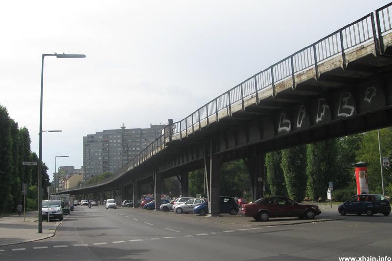 Wassertorplatz, Ecke Erkelenzdamm