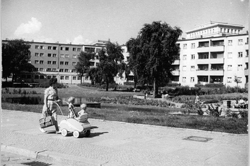 Weberwiese 1955