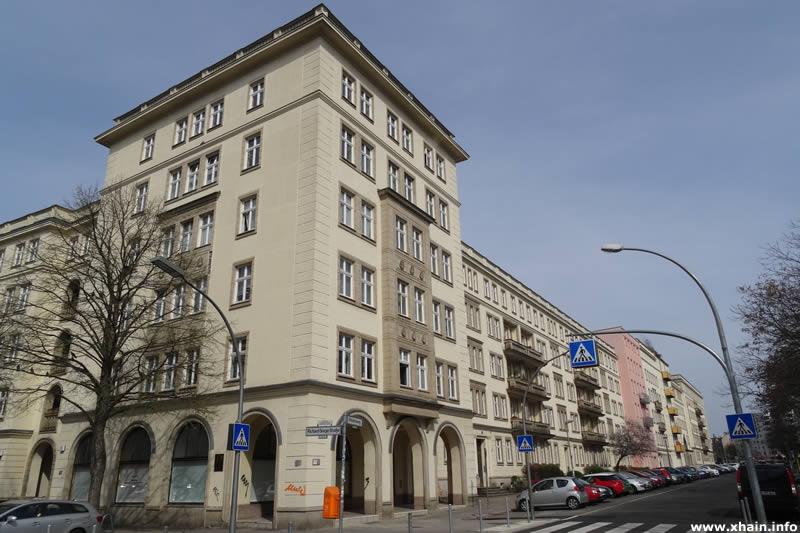 Weidenweg Ecke Richard-Sorge-Straße