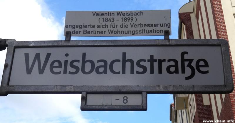 Weisbachstraße