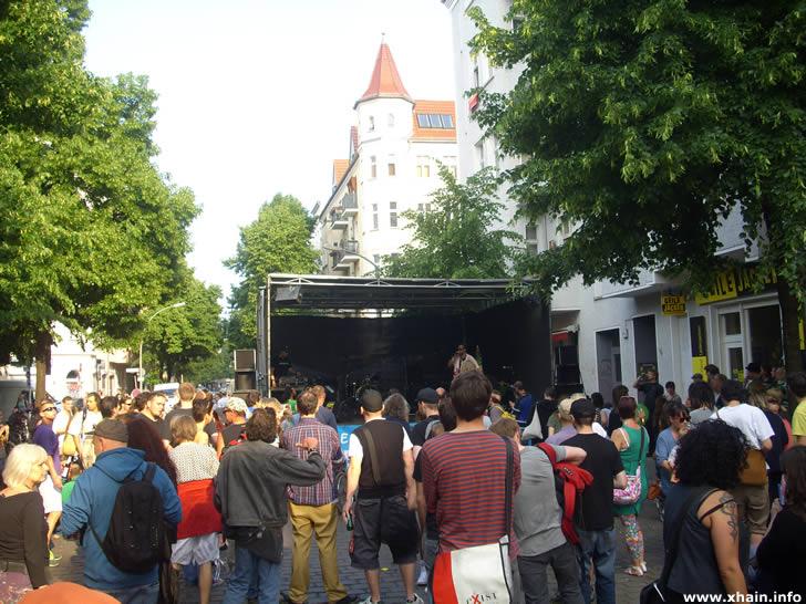 Konzert auf dem Weltfest Boxhagener Platz