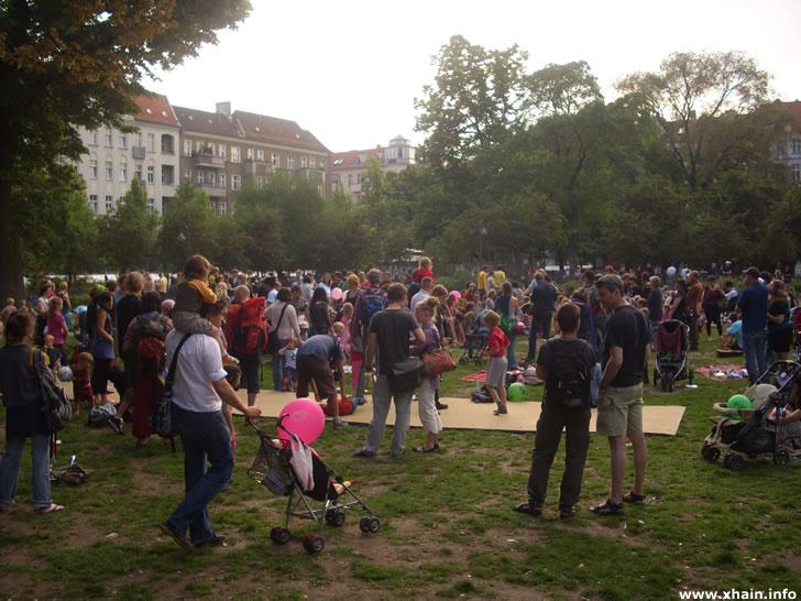 Kinderfest auf dem Boxhagener Platz