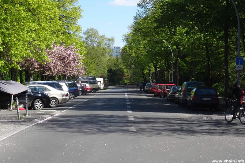 Wiener Straße, Blickrichtung Görlitzer Ufer
