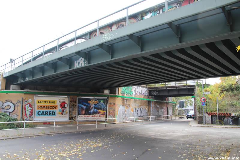 Brücken über die Pfarrstraße
