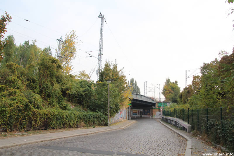 Wiesenweg, Blickrichtung Pfarrstraße