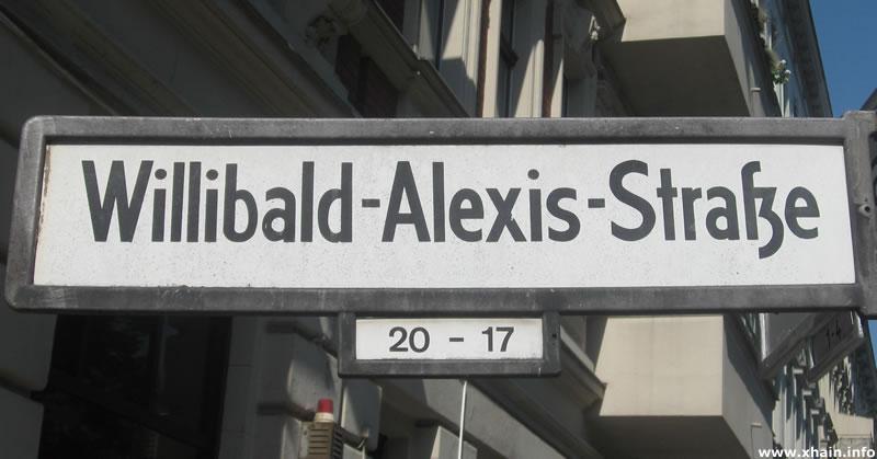 Willibald-Alexis-Straße