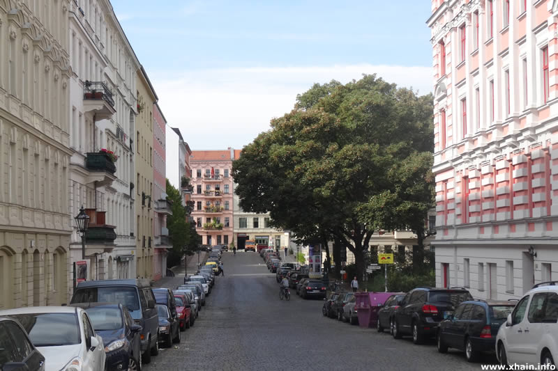 Willibald-Alexis-Straße, Blickrichtung Kopischstraße